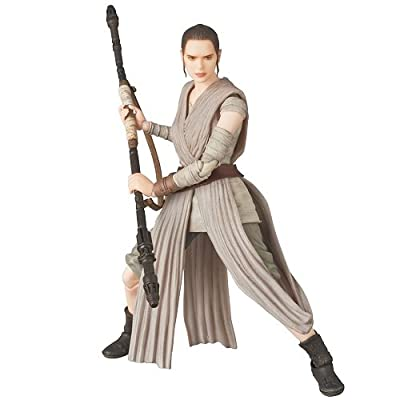 "Medicom Toy MAFEX REY ""Star Wars: The Force Awakens"" Action Figure: Toys & Games"