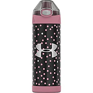 Under Armour Beyond 16 Ounce Vacuum Insulated Stainless Steel Bottle, Pink Nova
