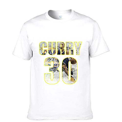 JJZHY Camiseta de Baloncesto Stephen Curry de Manga Corta de Baloncesto Superstar de la NBA Camiseta de Baloncesto de Curry de Algodón: Amazon.es: Deportes ...