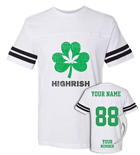 Marijuana Jerseys ST Patrick's Day T Shirts ☘ Saint Pattys Tee & Irish Team Outfits