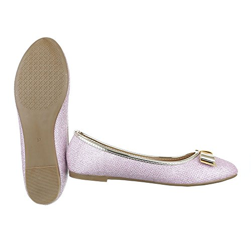 Ital-Design Women's Closed Light Pink NtdLZSeqsw
