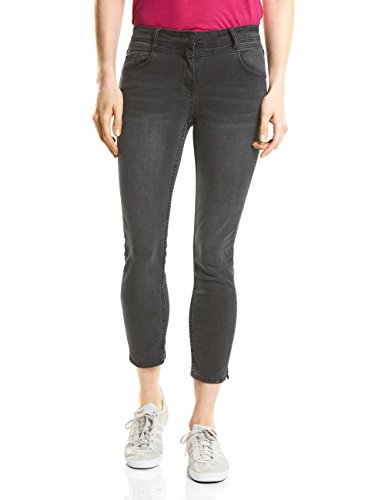 Grigio 10189 Donna Used Wash Jeans Cecil Slim grey 6wTnOt