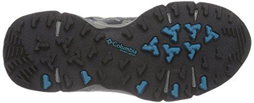 Columbia VENTRAILIA OUTDRY Zapatos de senderismo Mujer Gris (Quarry/Aqua 052)