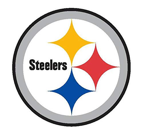 NFL Football New Skin|7 Sizes Logo Truck Emblem Windows laptops | Pittsburgh Steelers Vinyl Decal. (8 inch)]()