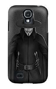 S0091 V Mask Guy Fawkes Anonymous Case Cover for Samsung Galaxy S4