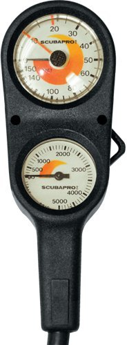 ScubaPro 2 Gauge Console-Imperial (Scuba Console)