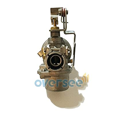 OVERSEE 3F0-03100-4 Outboard Carburetor For Tohatsu Outboard Motor 2.5H 3.5HP 2 Stroke, Boat Motor Carburetor Assy, Replacement Carburetor Aftermarket Parts 3F0-03100