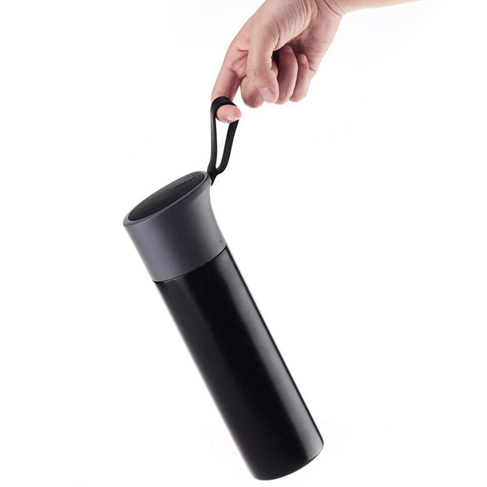 Sportflasche Isolier Becher Thermo Becher Travel Mug Kaffeebecher Trinkflaschen-Portable Wasserflasche Trinkbehälter Trinkflaschen-Portable Kaffeebecher Outdoor Mit Großer Kapazität Und Langlebig JINRONG aa5751