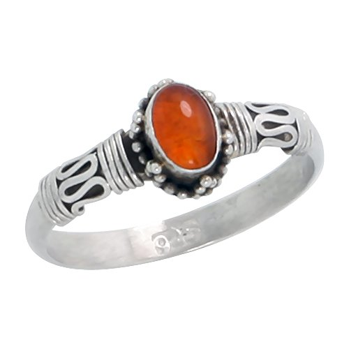 8x6 Oval Cabochon Ring - 9