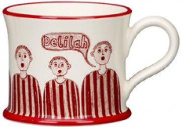 moorland pottery quot delilah quot gift boxed mug stoke city