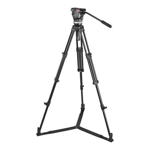 Sachtler 1002 Ace M GS System with Ace M Fluid Head, Tripod, On-Ground Spreader SP 75, Bag, Camera Mounting Plate, Pan Bar
