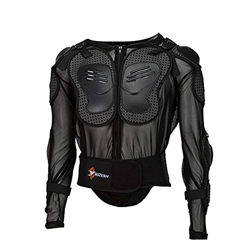 NCBH Motorcycle Protective Jacket,Motorcycle Protective Jacket,Sport Motocross MTB Racing Full Body Armor Protector for Men,M