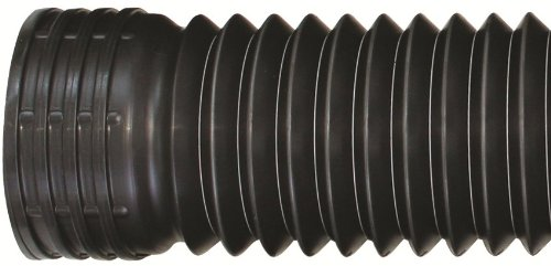 Flex-Drain 50710 Flexible/Expandable Landscaping Drain Pipe, Solid