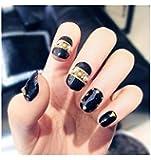 TBOP FAKE NAIL art reusable French long Artifical False nails 24 pcs set