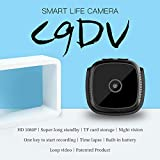 WHZDQ Mini Camera, 1080P Portable Camera 2 Megapixel Travel Camera Motion Monitoring Timing Capture IR Night Vision (No SD Card)
