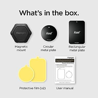 Spigen QS11 Quad Car Phone Mount Magnetic Air Vent Phone Holder | QNMP Compatible with Most Smartphones - Black 9