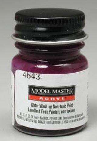 - Purple Pearl Testors Acrylic Plastic Model Paint
