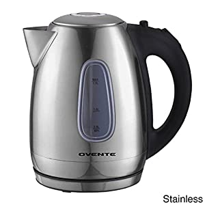 Ovente KS96 Stainless Steel Cordless Electric Kettle, 1.7 Liter by Ovente