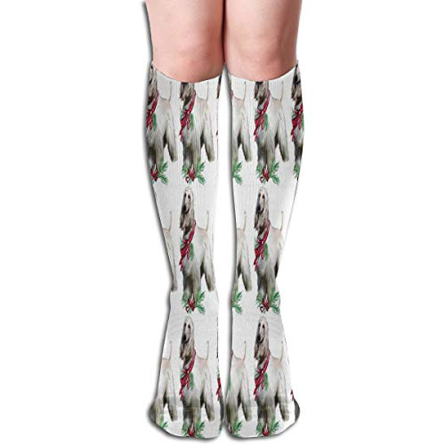 - Afghan Hound Fabric-Compression Socksfor- Best Stockings for Running, Medical, Athletic, Edema, Travel, Pregnancy, Shin Splints.