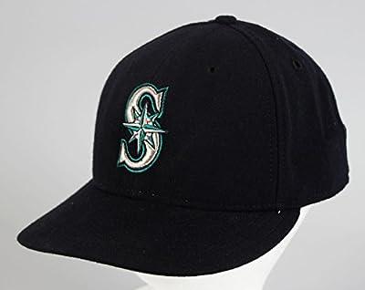 Seattle Mariners -- Ken Griffey Jr. Game-Worn Baseball Hat - Game Used MLB Hats