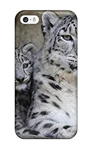 7063493K73454719 Forever Collectibles Snow Leopard Pictures Hard Snap-on Iphone 5/5s Case