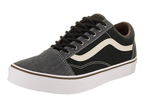 Skool Homme Grey mode Baskets U Old Vans White Black qxwBOEX0