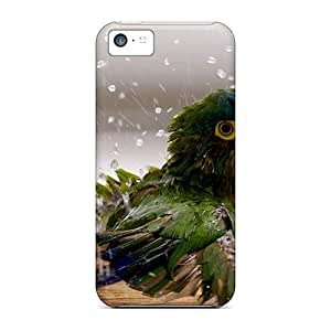 Durable Naughty Parrot Back Case/cover For Iphone 5c