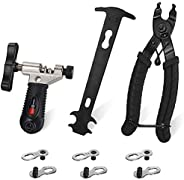 WOTOW Bicycle Chain Repair Tool Kit, Cycling Bike Master Link Pliers Remover & Chain Breaker Splitter Cutt