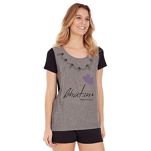 Camiseta Buthan - Cinza Mescla - Tamanho P
