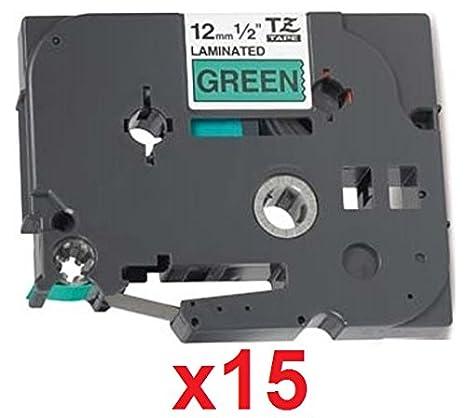 Casete de Cinta Compatible con TZe133 TZ133 Azul Sobre Transparente 12mm x 8m para Brother P-Touch PT-1000 1005 1010 3600 9600 D210 D600VP E300VP E550WVP H101C H101GB H105 H110 H300 H500 P700 P750W