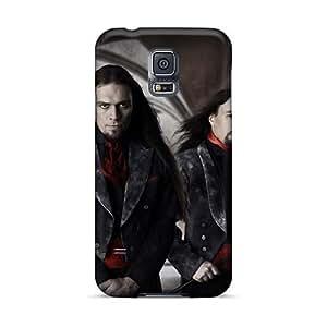KennethKaczmarek Samsung Galaxy S5 Best Hard Phone Case Customized High-definition Northern Kings Band Pattern [KlF14818GyJE]