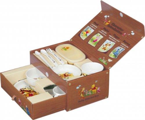 Combi Winnie the Pooh Baby Food Dish set Feeding dish box set by Combi (Image #4)