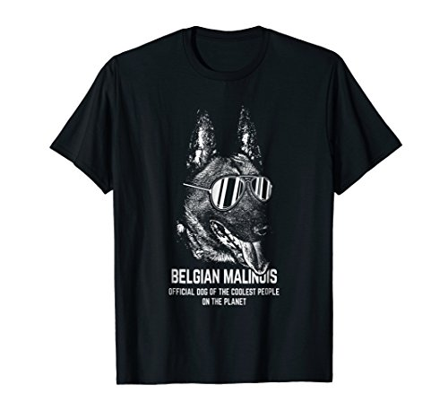 Mens Belgian Malinois Official Dog of the Coolest Lovers Shirt Large Black