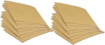 2 x 6 Linoleum Gold Cut Carving Printing Studio Pack of Firm 20 Sheets Class Pack Multi Size Artist Printmaking Art Set
