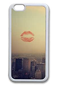 City Sights 12 Slim Soft Cover for iPhone 6 Plus Case ( 5.5 inch ) TPU White Cases