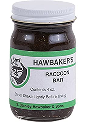 Hawbakers Raccoon Bait 4 oz.