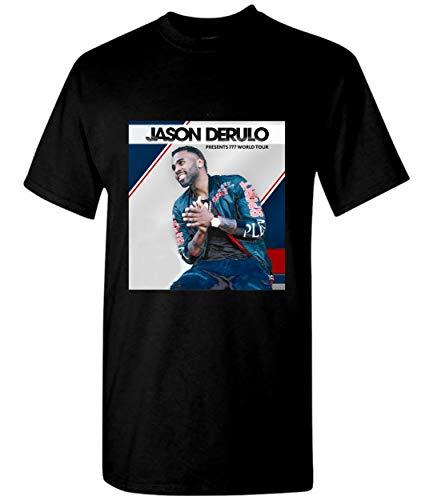 TOMATO TEE Jason Derulo Presents 777 World Tour 2018 Unisex T-Shirt Sweatshirt Black (Jason Derulo Sweatshirt)