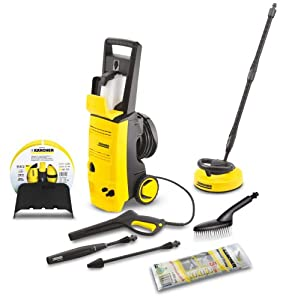 k rcher jubilee pressure washer with accessories. Black Bedroom Furniture Sets. Home Design Ideas