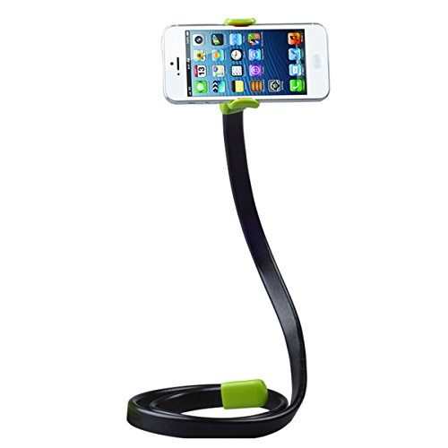 VR-robot Lazy Bracket,Car/Bed/DeskFlexible Holder ,Mobile Phone Stand for iPhone/Samsung (Green)