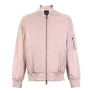 Abrigos Ropa/Hombre/Ropa Chaqueta de algodón de Color Rosa ...