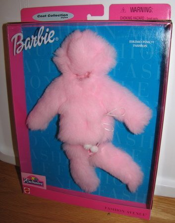 barbie-fashion-avenue-eskimo-pink-fashion-new