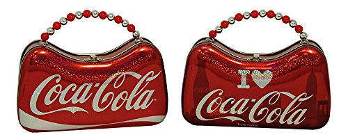 Coca-Cola Scoop Purse - Metallic Metal Tin Case Box New 667807 (1 Style Only)