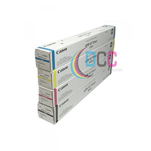 GPR-53 CYMK Toner Cartridge Set For Advance C3325I C33380I