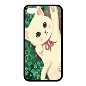 Custom Cat Back case for iphone4,4S JN4S-298