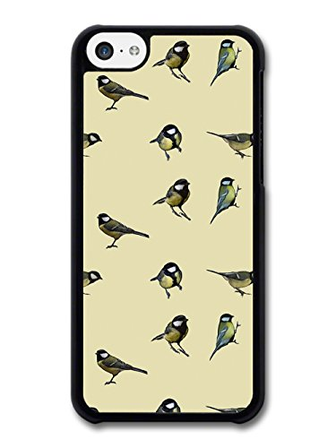 Bird Animal Nature Cream Painting Pattern Illustration case for iPhone 5C