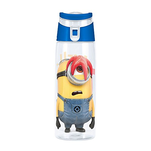 Zak Designs Minions 25 oz. Wide-Mouth Water Bottle, Stuart