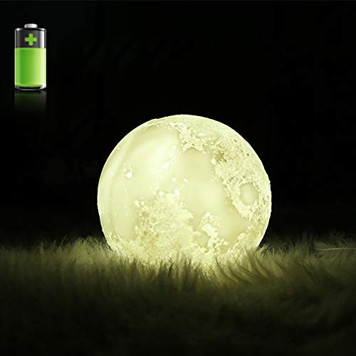 Humidifiers Household Appliances 880ml 3d Moon Lamp Usb Humidifier With Battery Rechargeable Ultrasonic Aroma Air Diffuser 3 Color Change Night Light For Bedroom Wide Varieties