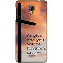 Micromax Canvas Unite 2 A106 Case, Premium Handcrafted Designer Hard Shell Snap On Case Shockproof Printed Back Cover for Micromax Canvas Unite 2 A106 - Bible Wisdom 5