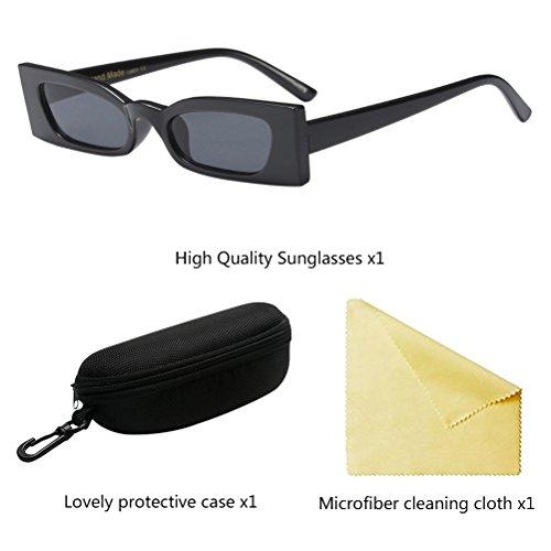 de de Eyewear Livianas Mujer Gafas Personalidad para Zhuhaitf Black Cómodas Sol de Gafas Anteojos y Eyeglasses Rw6zIq5
