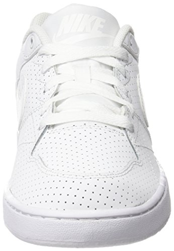 Nike Priority Low, Zapatillas Para Hombre Blanco (Blanco (White/White-Wolf Grey))